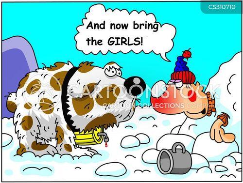 rhum cartoon