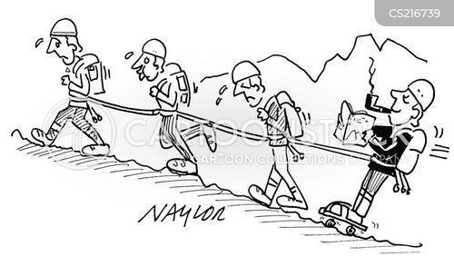 hiked cartoon