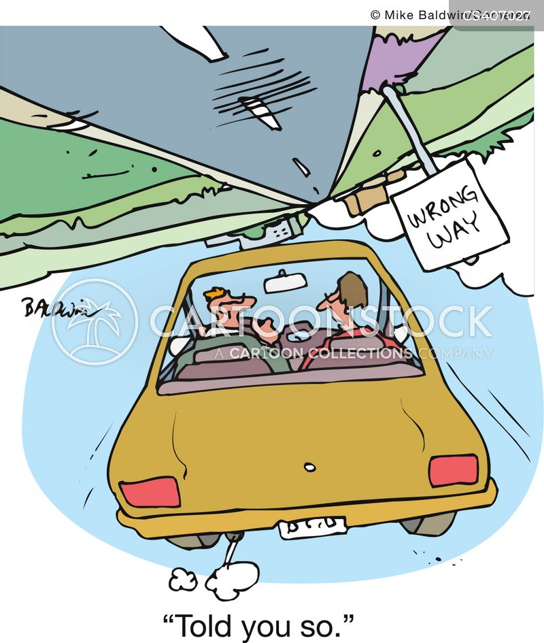 roadtrips cartoon