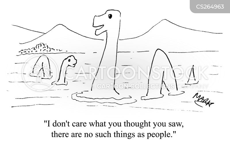 nessie cartoon