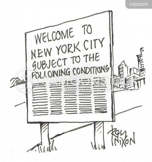 legal disclaimers cartoon