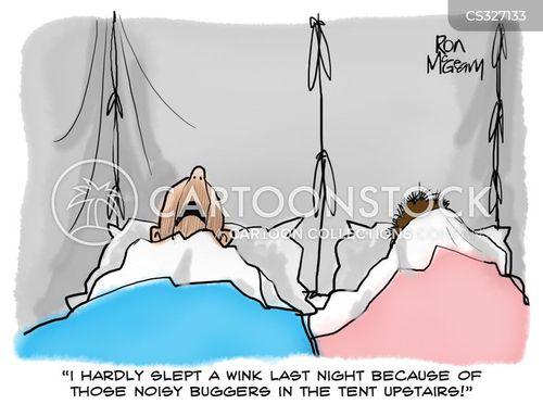 snored cartoon