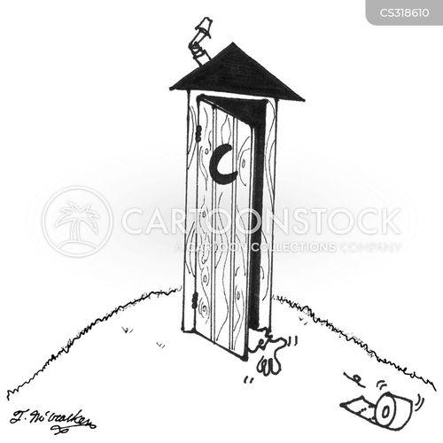 campground cartoon