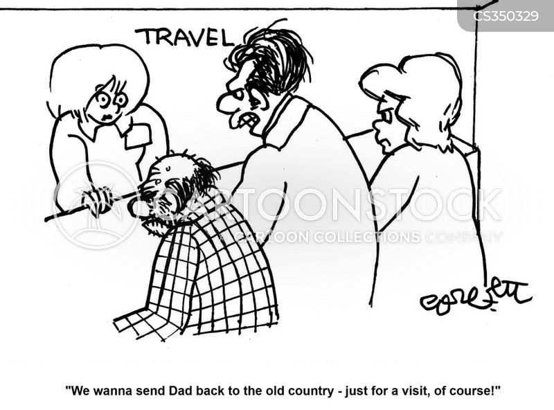 old country cartoon