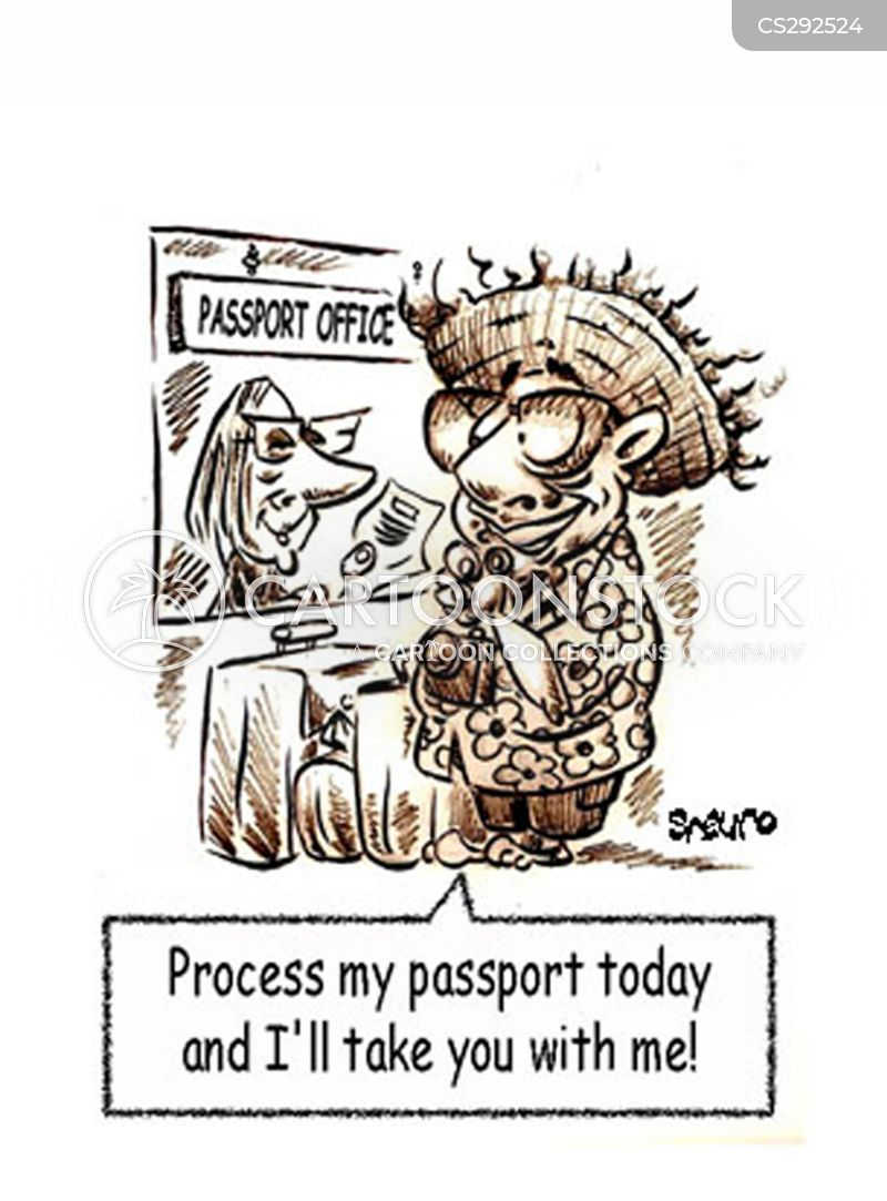 Passport Office Cartoons and Comics - funny pictures from