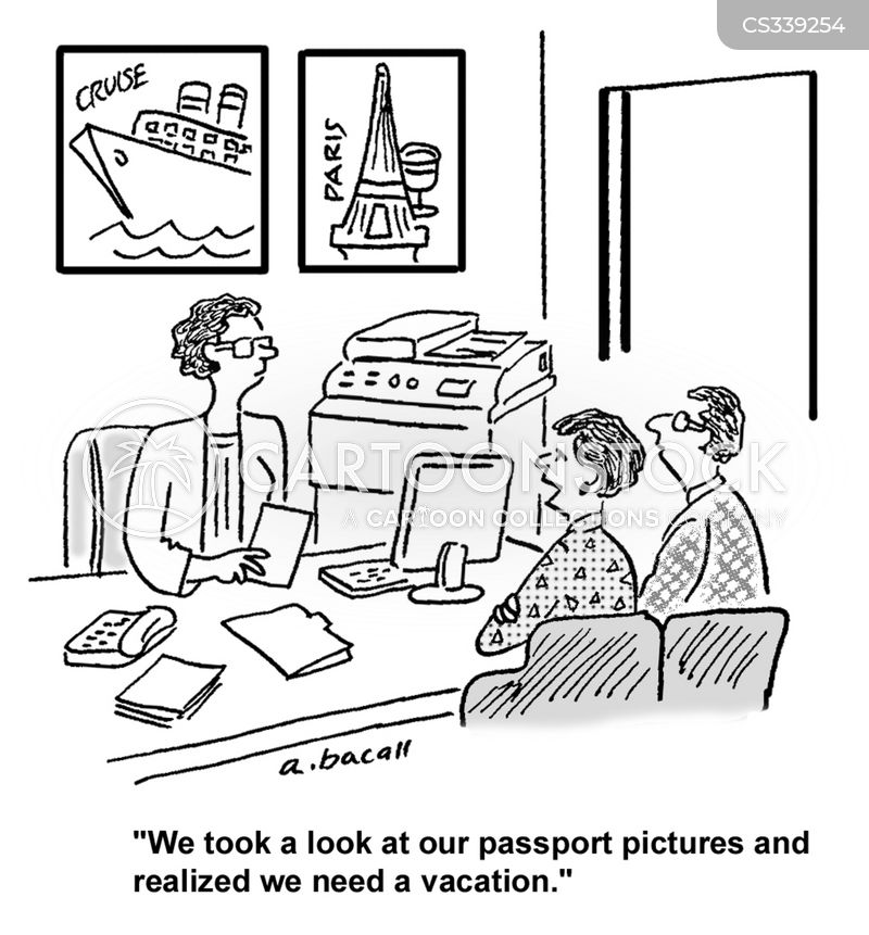 Passport cartoons, Passport cartoon, funny, Passport picture, Passport pictures, Passport image, Passport images, Passport illustration, Passport illustrations