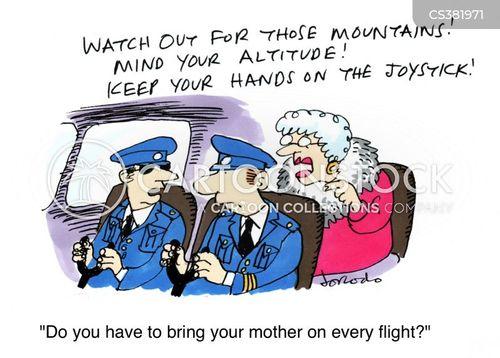 mothers boy cartoon
