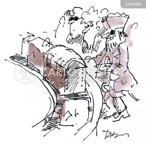 chests cartoon