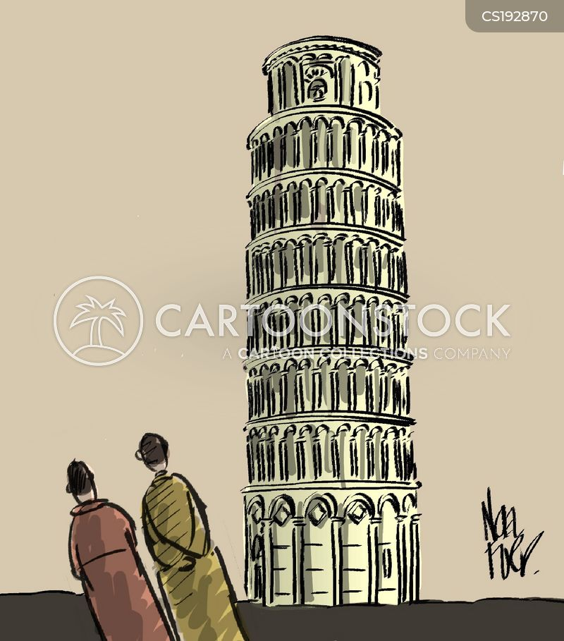 pisa cartoon