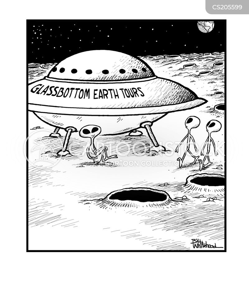 spacecraft cartoon