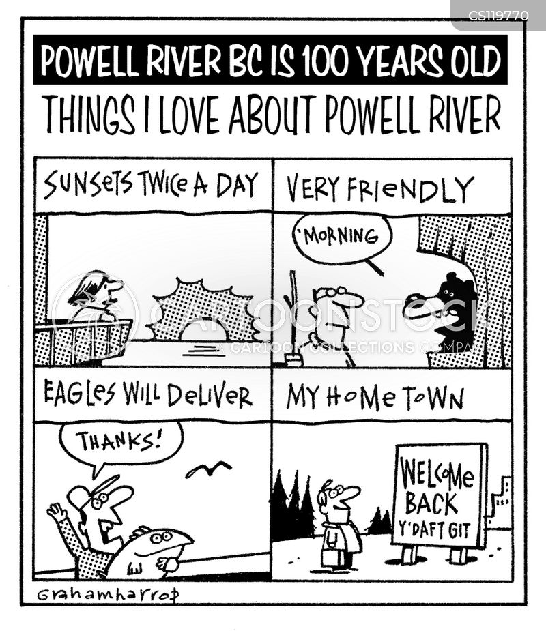 hometown cartoon