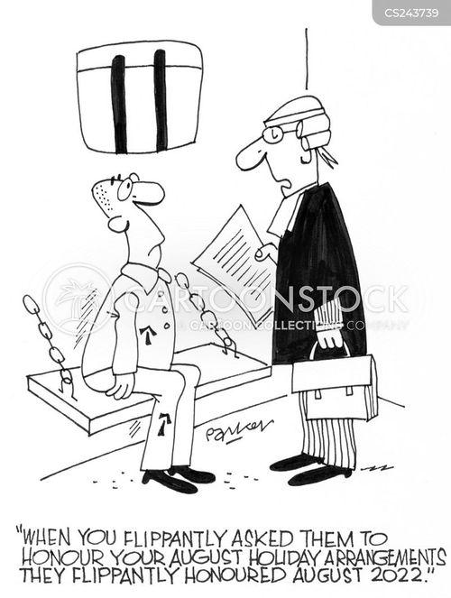 bank holidays cartoon