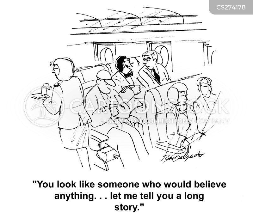telling tales cartoon