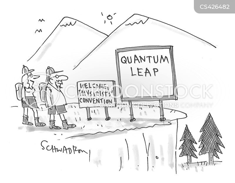 physics conventions cartoon