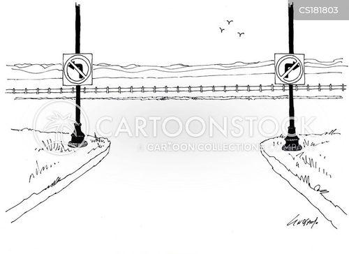 signpost cartoon
