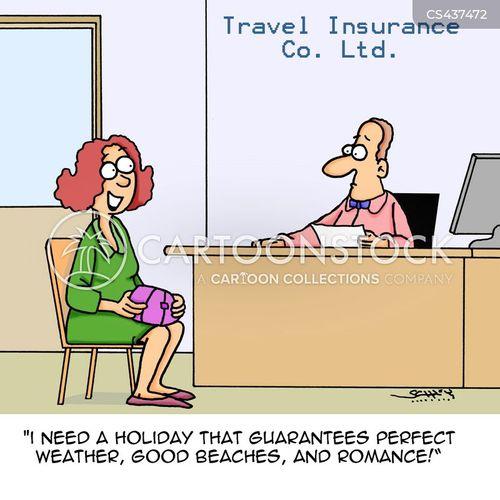 holiday romance cartoon