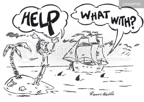 desert isles cartoon