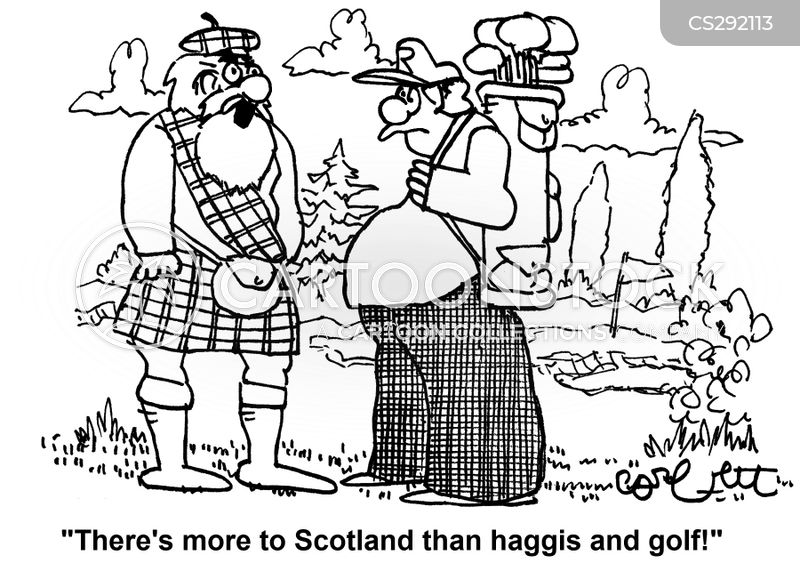 scottish stereotypes cartoon