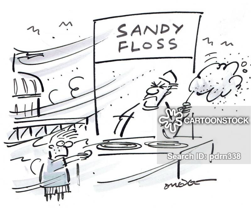 candy-flosses cartoon
