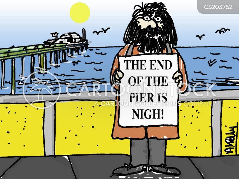 end is nigh cartoon
