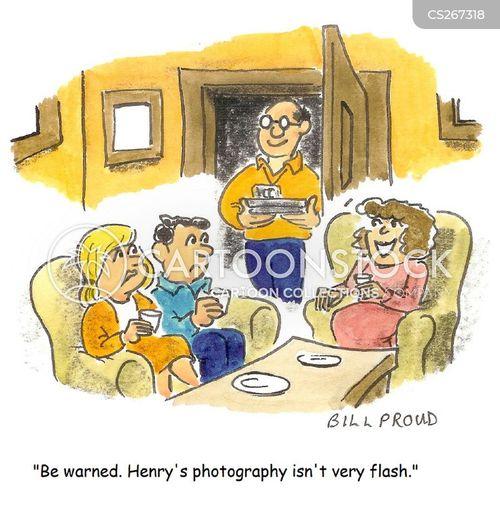flashes cartoon