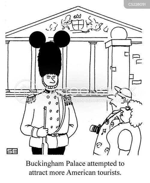 queens guard cartoon