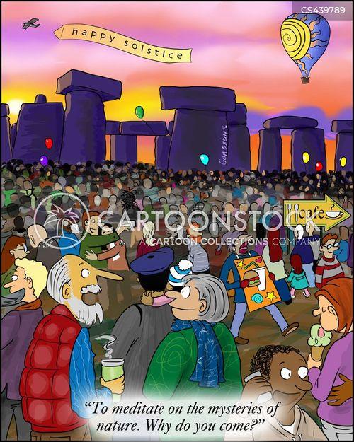 annual cartoon