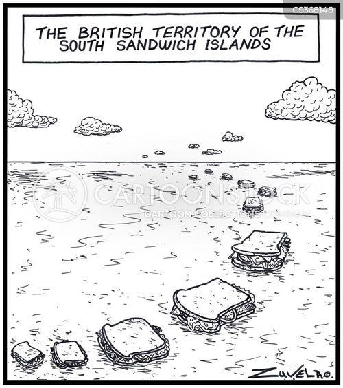 remote island cartoon