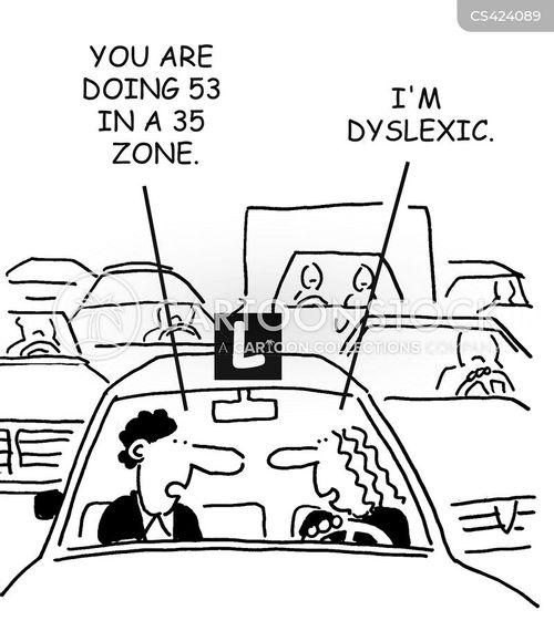 driving teachers cartoon
