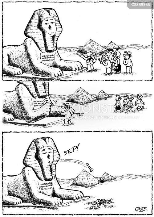 summoning cartoon
