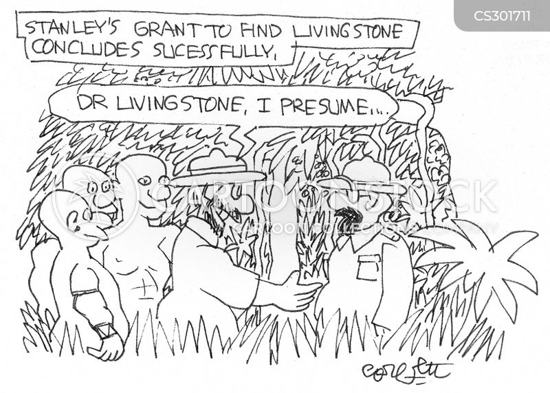 Stanleyu0027s Grant To Find Livingstone Concludes Sucessfully: U0027Dr Livingstone,  I Presume...u0027