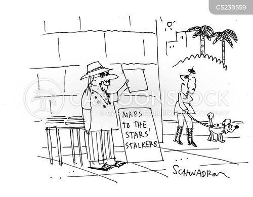 street stall cartoon