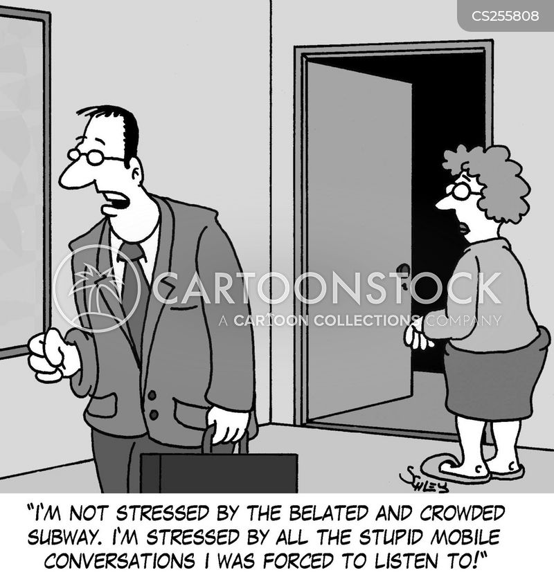 overhearing cartoon