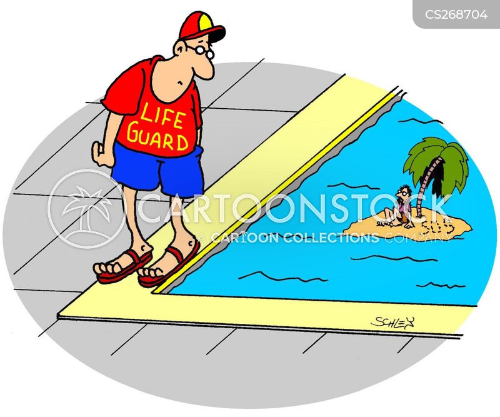 life-guards cartoon