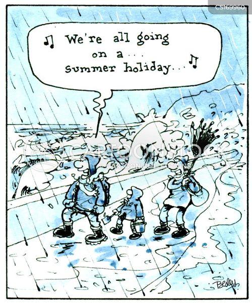 summer vacations cartoon