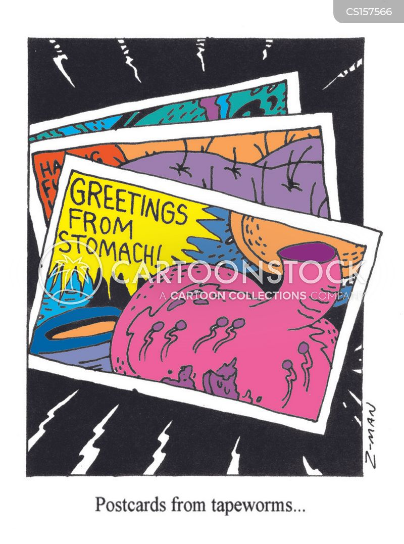 postcard cartoon
