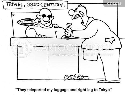 teleport cartoon