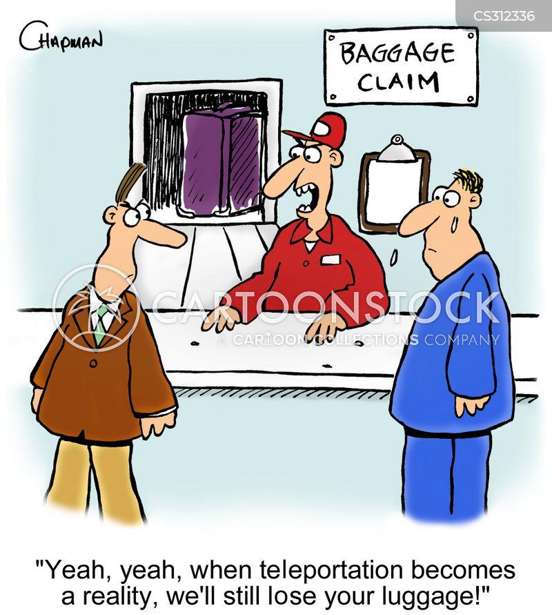 airport staff cartoon