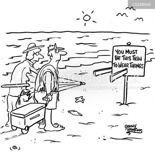 swimwears cartoon
