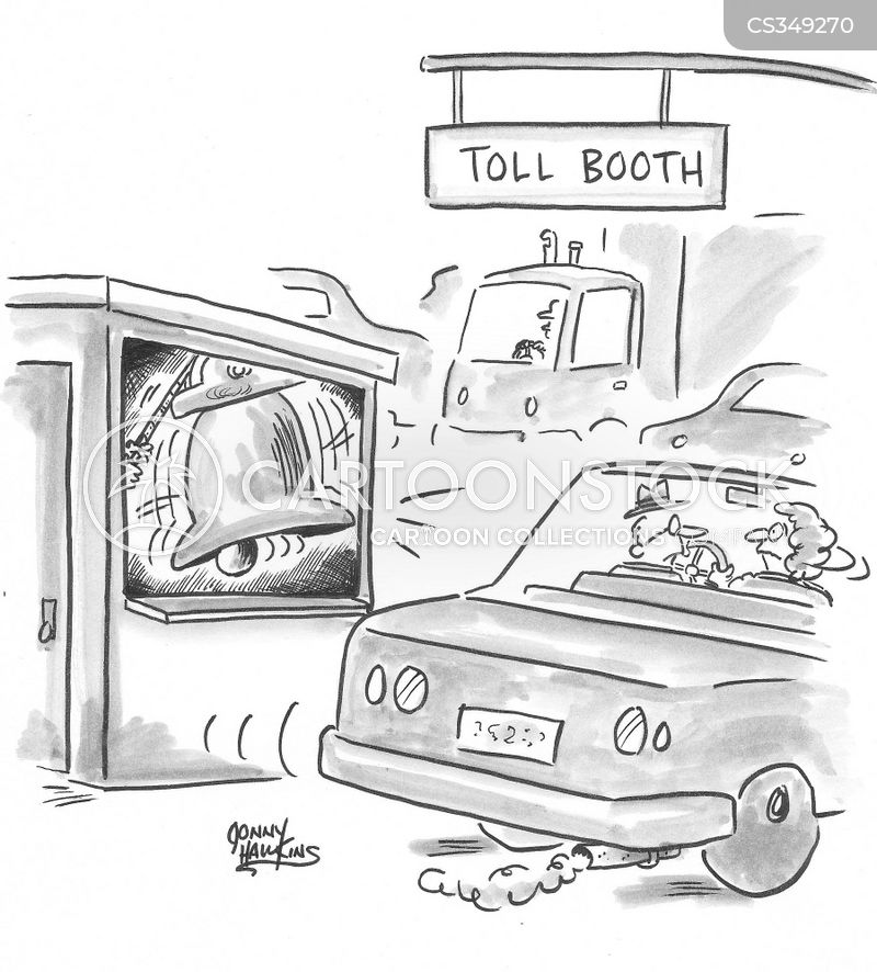Car Tolls cartoons, Car Tolls cartoon, funny, Car Tolls picture, Car Tolls pictures, Car Tolls image, Car Tolls images, Car Tolls illustration, Car Tolls illustrations