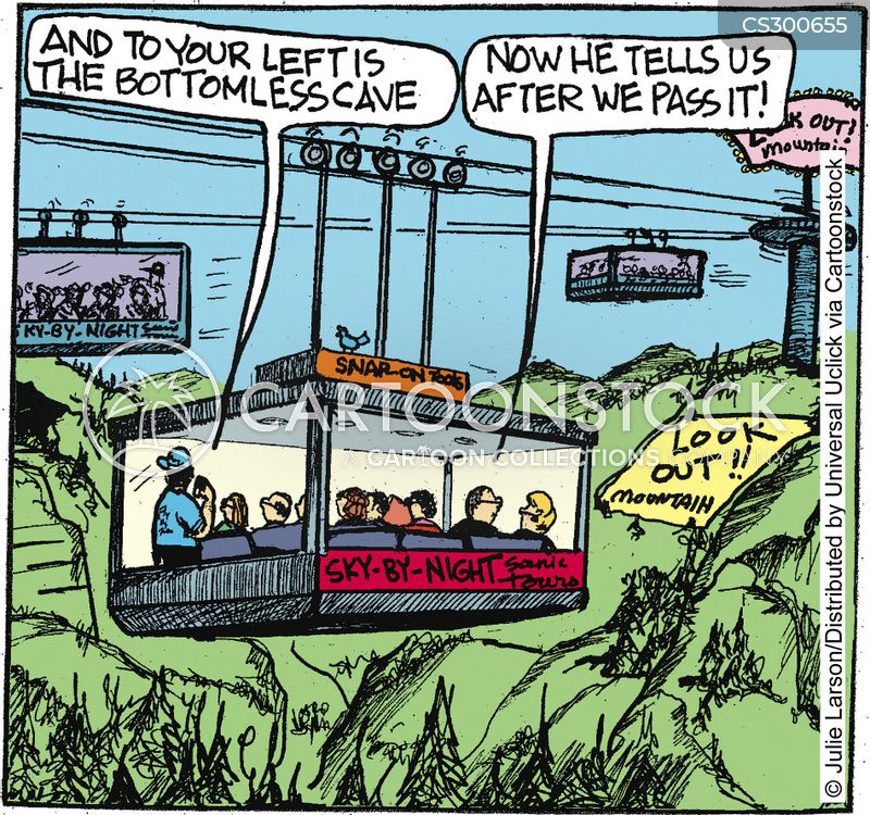 cablecar cartoon