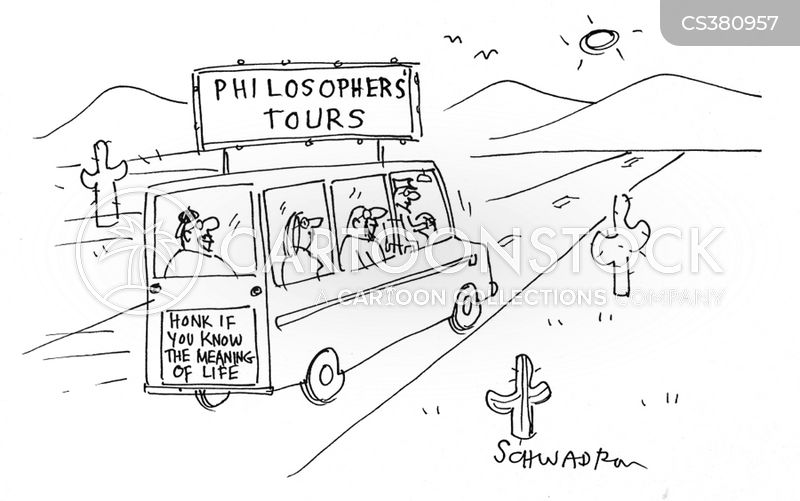 philospher cartoon
