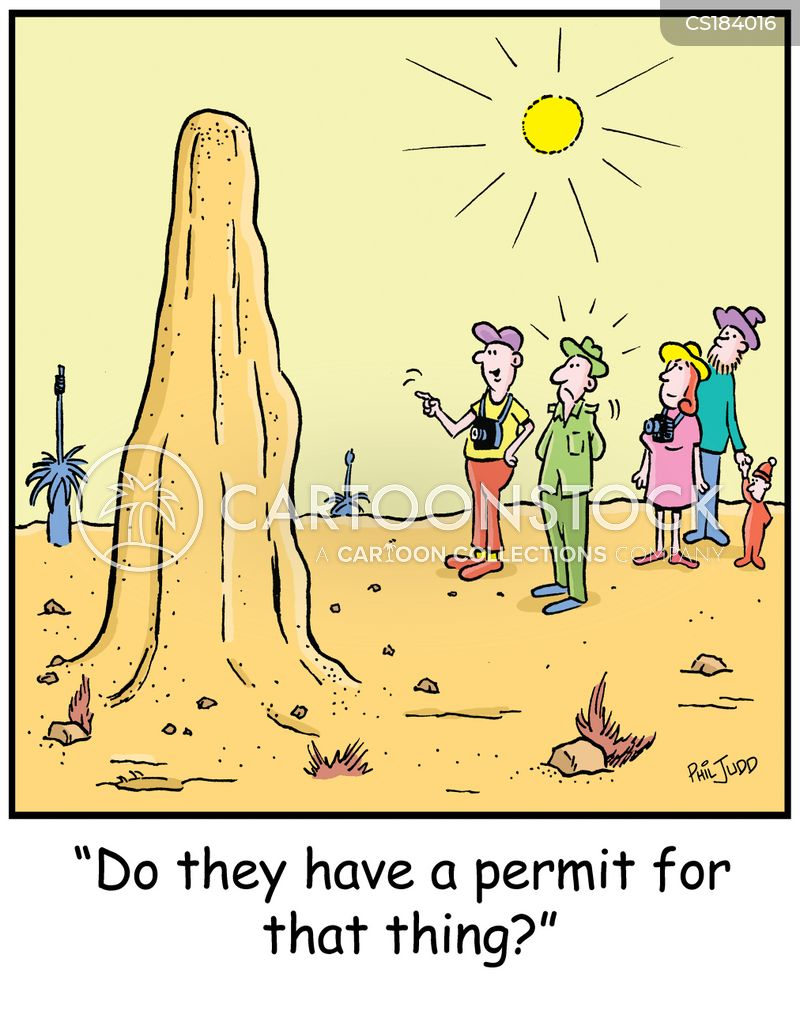 permit cartoon