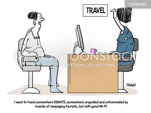 internet connections cartoon