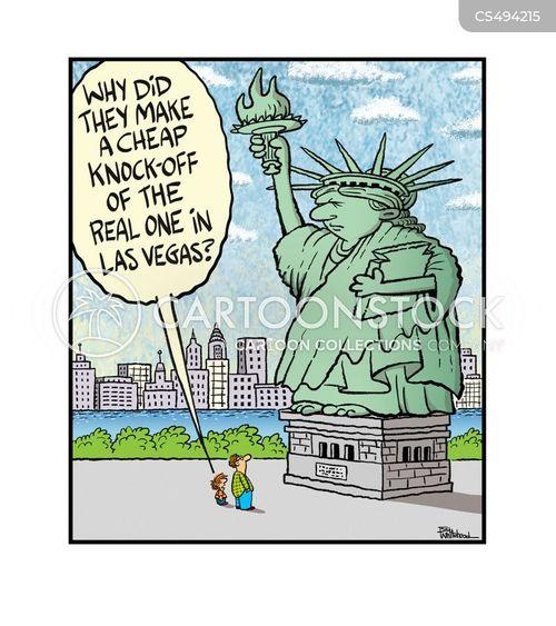 knock-offs cartoon