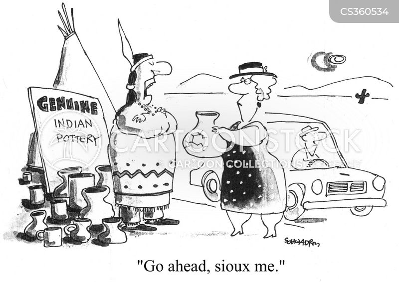 Sioux Tribes Cartoons and Comics - funny pictures from