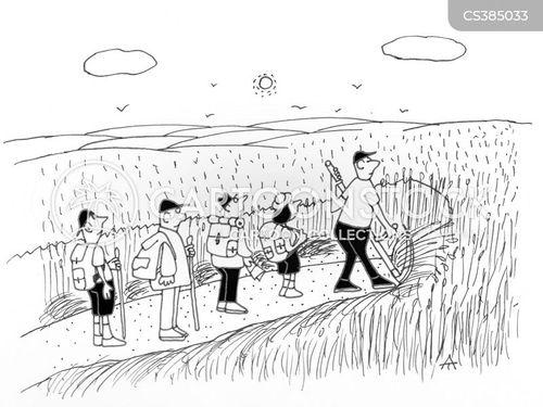 public footpath cartoon