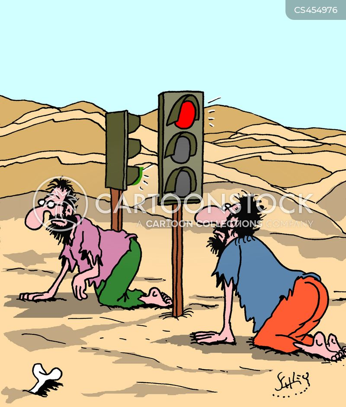 traffic law cartoon