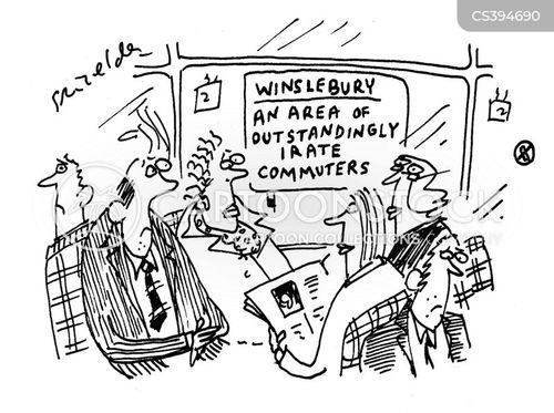 rail travel cartoon
