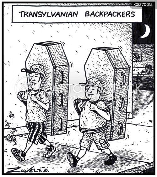 transylvanian cartoon